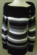 NWT WHITE HOUSE BLACK MARKET Marled Striped Sweater Sz: XL $88.00