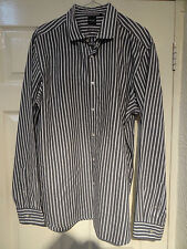 HUGO BOSS Fitted Striped Casual Shirts & Tops for Men
