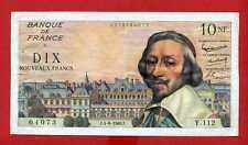 (Ref: Y.112) 10 FRANCS RICHELIEU 4/08/1960 (SUP)