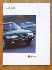 + + + vendita + + + SAAB 900 1994 AUTO opuscolo JM