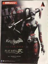Play Arts Batman: Arkham City #5 Harley Quinn Action Figure!