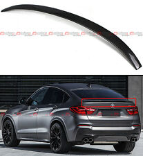 FOR 2015-18 BMW X4 F26 SUV PERFORMANCE STYLE CARBON FIBER TRUNK SPOILER WING LID