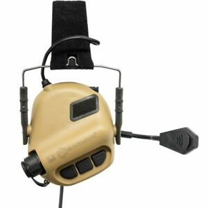 Earmor Tactical Electronic Hearing Protection Headset LATEST VERSION  TAN