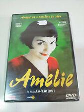 AMELIE DVD AUDREY TAUTOU JEAN-PIERRE JEUNET ESPAÑOL FRANCAIS Region 2 Nueva