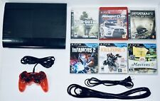 Sony PS3 250 GB Super Slim Console Bundle 6 Games + 1 Controller PlayStation 3