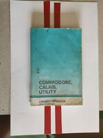 Holden COMMODORE Calais UTILITY VN / VG OWNER'S  MANUAL low K service record 15k