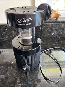 Fresh Roast Plus 8 Coffee Bean Roaster Model FB-01 Black