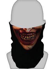 HALLOWEEN SCARY FACE DESIGN SNOOD NECKTUBE NECKWARMER FACE MASK PAINTBALLING