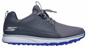 Skechers Go Golf Mojo Elite 54539 CCBL Charcoal/Blue Men's Waterproof New