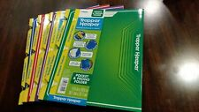 Trapper Keeper Snapper Trapper Pocket Prong Folders Set Of Four Mead