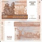 MADAGASCAR 500 ARIARY 2004 P 88 LOTE DE 5 BILLETES