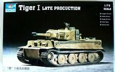 U S Dealer Trumpeter 1:72 Scale Famous German WWII Tiger I Late Production Kit