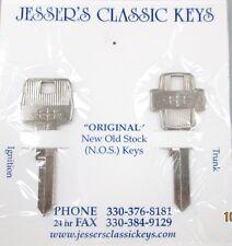 Rare 1964 Original Lincoln Star Vintage NOS Key Set '64 New Old Stock