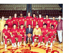 CLEVELAND CAVALIERS 8X10 TEAM PHOTOS LOT SET OF 4 1970 1971-72 1973 1974 NBA