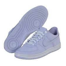 New Womens 10 NIKE Air Force 1 Low Light Palest Purple Shoes $90 487643-500