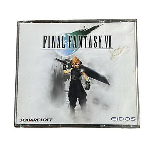 Final Fantasy VII (PC, 1997) Eidos Squaresoft Great Condition