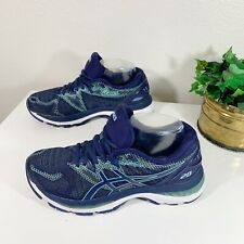 Asics Gel Nimbus 20 Womens Size US 7 Athletic Running Shoes Blue T850N