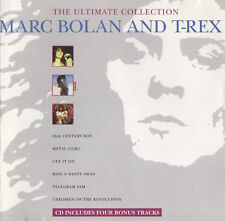 MARC BOLAN AND T-REX - THE ULTIMATE COLLECTION - CD