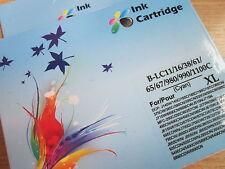 Cartucho De Tinta Cian b-lc11 Para Dcp J140w 145c 165c j515n j715n j885dn 6490cn # 6r86