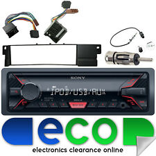 BMW 3 Series E46 98-06 SONY MP3 USB Aux Ipod Car Radio Steering Interface Kit