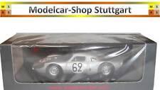Porsche 904 #62 argent - Du Mans 1965 (C. Poirot - R. Stommelen) - Spark 1:43