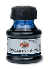FOUNTAIN PEN INK BLUE BLACK RED GREEN DOCUMENT KOH-I-NOOR 50G REFILLING WRITING