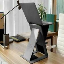 Foldable Laptop Stand Notebook Table Adjustable Portable Tray Lazy Computer Desk
