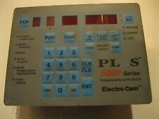 ELECTRO CAM PS-5121-10-M09 PS-5000 SERIES PROGRAMMMABLE LIMIT SWITCH