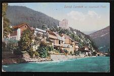 Österreich Postkarte gelaufen Ansicht Schloß Landeck Tirol