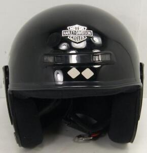 Harley Davidson Jet Motorcycle Helmet Sz Small