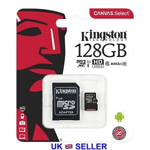 Kingston Micro SD Card SDHC SDXC Memory Card TF Class 10 16GB 32GB 64GB 128GB