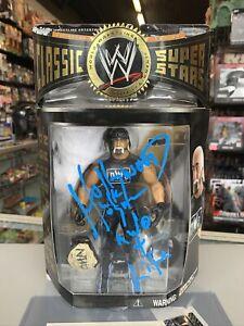 Hollywood Hulk Hogan WWE WWF Autograph Jakks Classic Wrestling Figure w COA