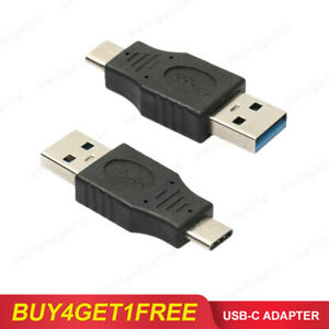 USB 3.0 Type A Male to USB 3.1 Type C Male Data Charging Charger USB-C Adapter