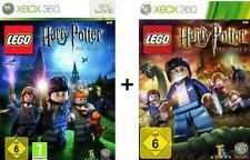 XBOX 360 LEGO HARRY POTTER DIE JAHRE 1-7 BUNDLE Top Zustand