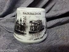 Vintage Porcelain Barbados Coffee Mug Nice!