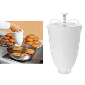 1PC Donut Maker Lightweight Durable Plastic Pastry Tool Donut Mould for Kitchen