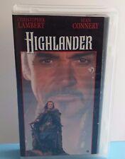 VHS Highlander***Christopher Lambert, Sean Connery***