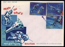 1967, Bhutan, 167-69, FDC - 1717706
