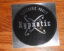 "Hypnotic Electronic Purity Sticker Circle Promo Mirrored 4"" RARE"