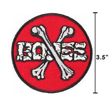 Powell Peralta Cross Bones Iron On Jacket Patch 3.5 Inch Old School Skateboard