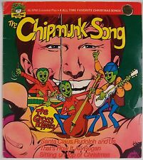 THE CHIPMUNKS: The Chipmunk Song CHRISTMAS SONGS Vintage Record