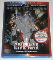 Marvel Blu-ray 3D Combo - Captain America Civil War (Used, NO digital copy)