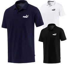 Genuine PUMA Men's Polo Shirt Black/Peacoat/White - Puma Australia Stocks
