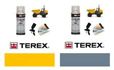 Terex Dump Truck Yellow & Grey Paint High Endurance Enamel Paint 400ml Aerosols