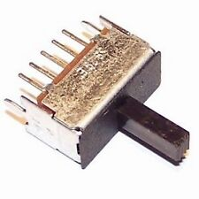 Lot of 3 ALPS Slide Switch 1-Pole 3-Positions SSSF01126A