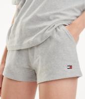 TOMMY HILFIGER Grey COTTON Shorts SIZE M UK 10 12 RRP £35 Blogger