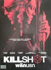 Killshot (2008) DVD '0' PAL - Thomas Jane, Diane Lane, Mickey Rourke, Thriller
