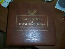 GOLD REPLICA STAMPS COLLECTION  198 & 1982 UNITED STATES  45 First Day Covers