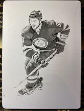 Dustin Byfuglien 12-13 Dominion Hockey Printing Plate S/N 1/1 1 of 1 Jets #99