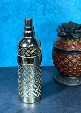 Vintage Guerlain Shalimar French Glass Perfume Bottle Empty Holder NO TOP